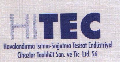 Hıtec Havalandırma Isıtma Soğutma Tic.Ltd.Şti.